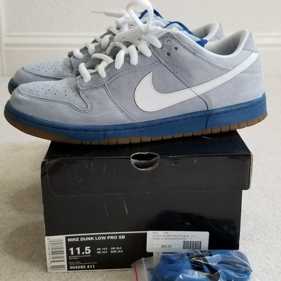 quality design 7123c a4c4e Nike SB Dunk Low Boarder Blue